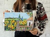 Український пейзаж 20х30 (акрил)