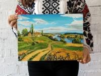 Український пейзаж 40х30 (акрил)