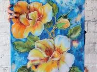 Квіти 40х50 (батик)