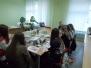Майстер - клас для гостей училища-Розпис предметів у технеці- Подвійний мазок Головата Я.Ю