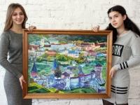 Панорама Кам'янця-подільського 60х80 (олія)